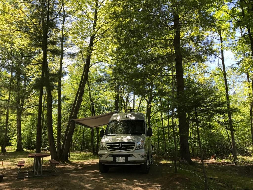Van Trip To Michigan Thervventurer