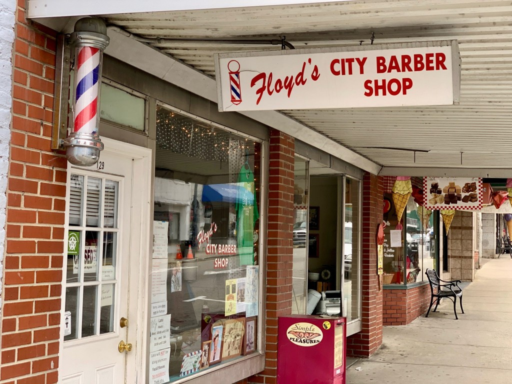 Floyd's Barber Shop Mount Airy NC
