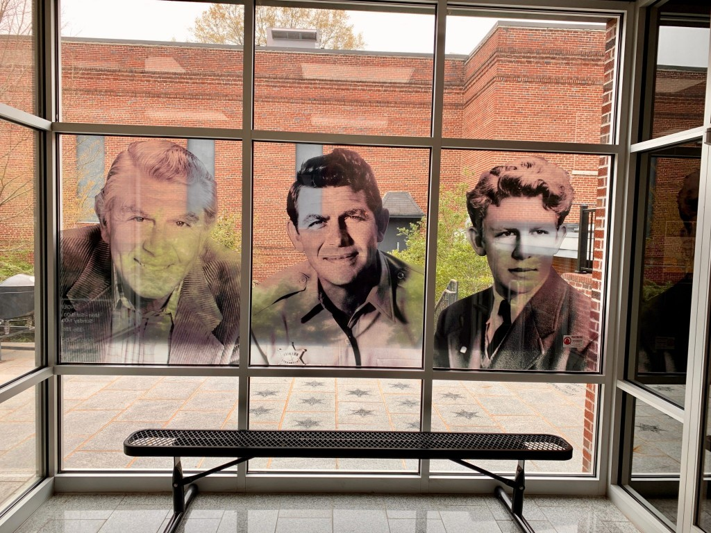 Inside the Andy Griffith Museum