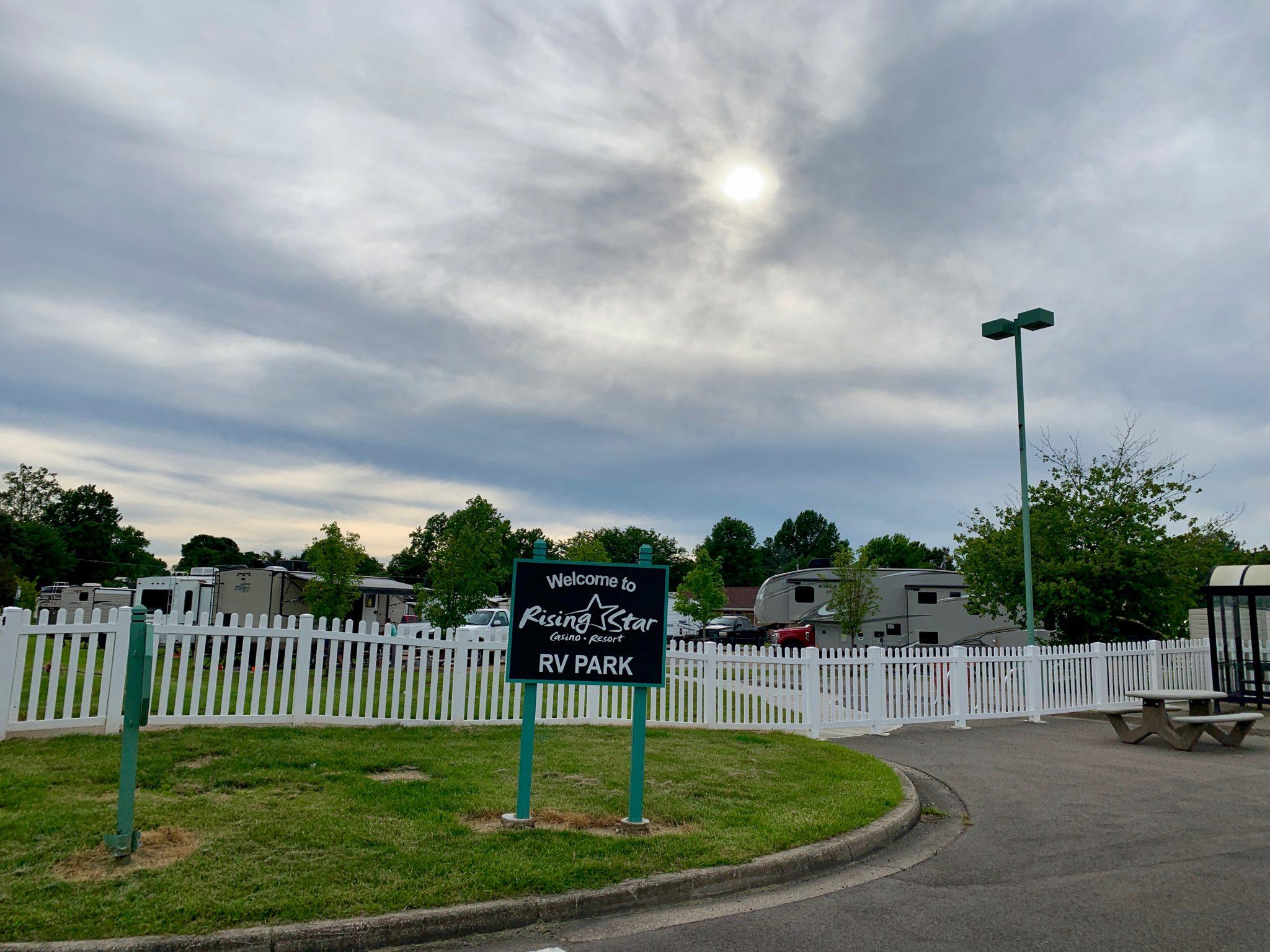 RV Park Sign